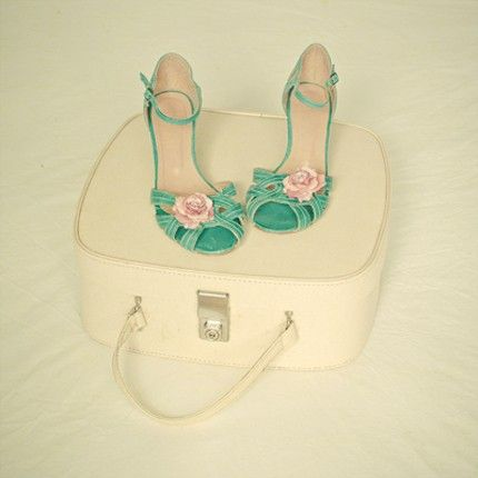 Vintage Minty Shoes