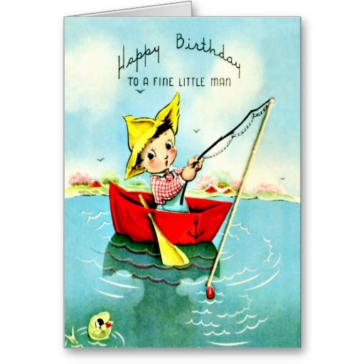 12 best images about Boys Retro Birthday Cards – Birthday Cards for Little Boys