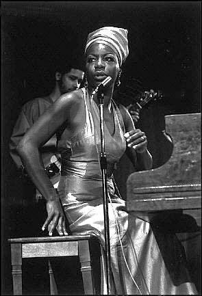 the incredible Nina Simone