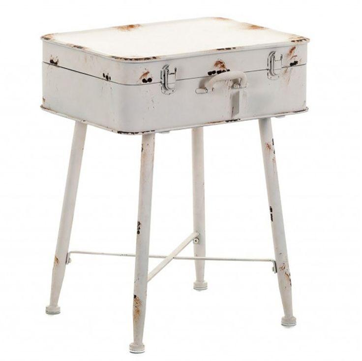 Perfekt Dieser Tisch Wurde Aus Metall Hergestellt Und Dann Der Tisch Wurde Auf Alt  Gemacht. Für Alle Liebhaber Vom Provenzalischen Stil