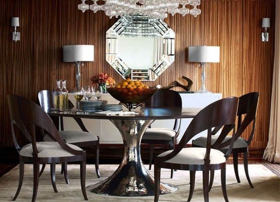 Designer Candice Olson's Shimmering Details wallpaper collection