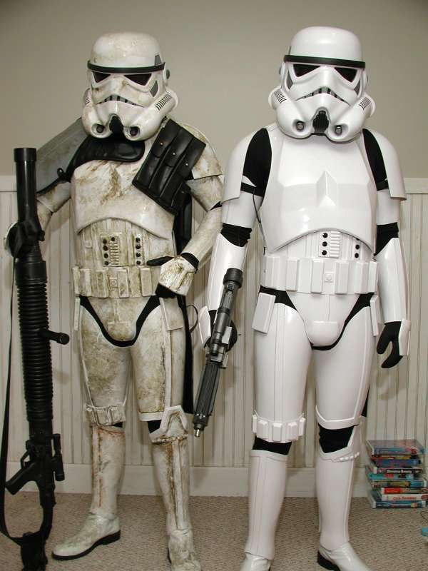 Stormtrooper Uniform Design Meeting: The Emperor Vs. an Industrial Design Consultant