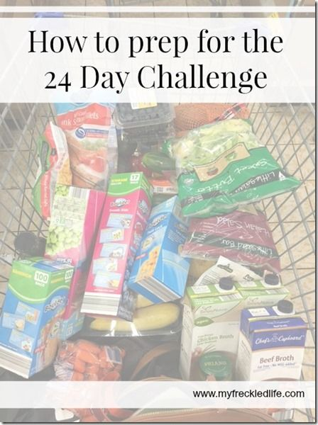 How to prep for the Advocare 24 Day Challenge