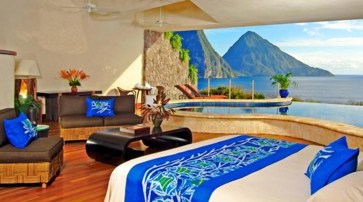 Hver suite er indrettet forskelligt og i forskellige farver