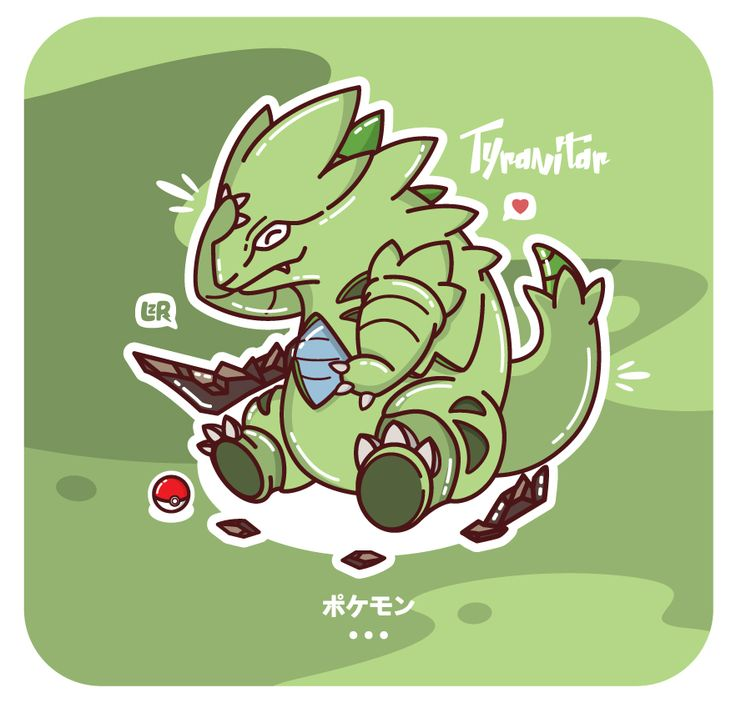 Pokemon Tyranitar..