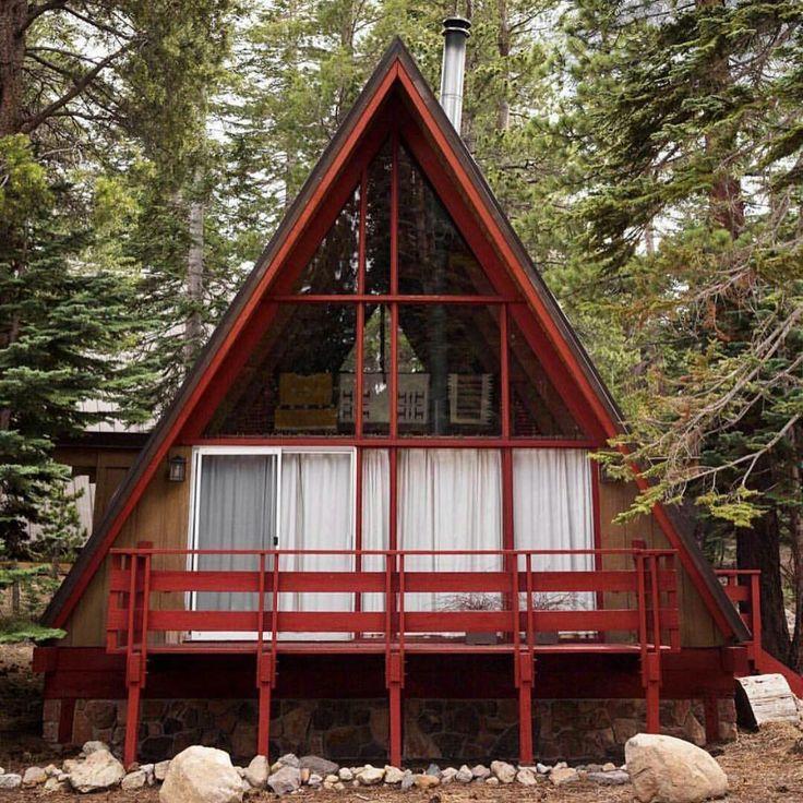 794 besten A-Frame Bilder auf Pinterest | Kleine häuser, Holzhütten ...