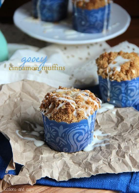 Gooey Cinnamon Roll Muffins   Recipe   Powder, Muffins and ...