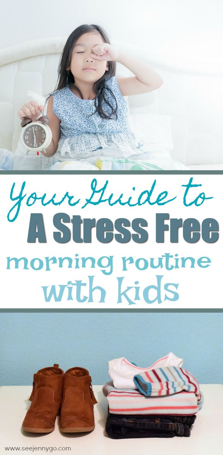 How To Get Your Kids Ready For School On Time Without A Fight