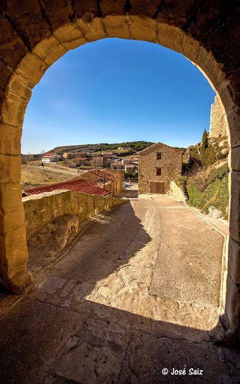 Puertomingalvo, Teruel, España.