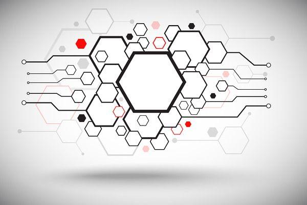 Set of hexagonal cells - Illustrations - 1