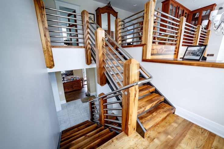 Best Pin By Grothouse On Custom Wood Stair Treads Wood Stair 400 x 300