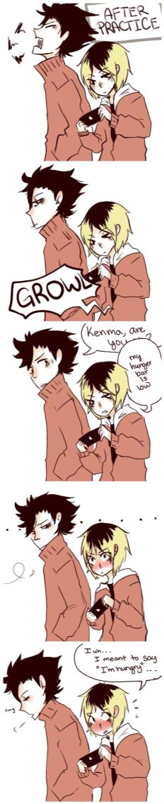 Kuroken.... Kenma needs to put down the games, he's in too deep