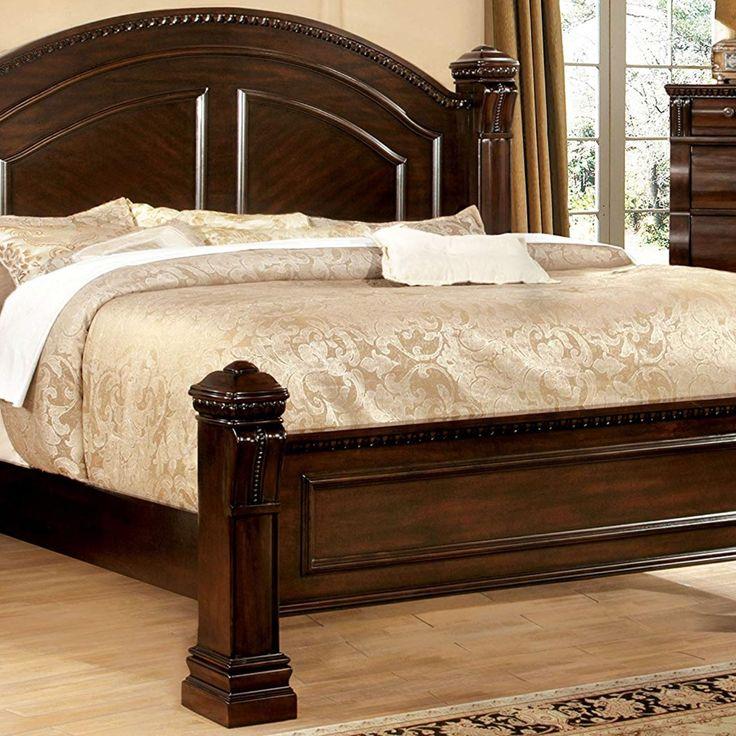 Bed Frame, headboard, Chic, modern, luxury, farmhouse ... on Modern Boho Bed Frame  id=48233