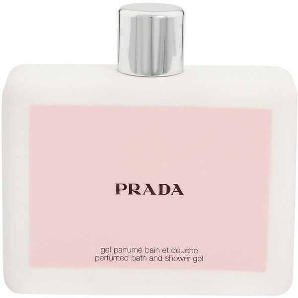 Prada Amber Bath and Shower Gel ($48) ❤ liked on Polyvore featuring fillers, beauty, makeup, perfume, beauty products y fragrance