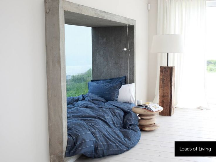 Snuggle up and keep warm this weekend with our Denim Duvet Cover. #LoadsOfLiving