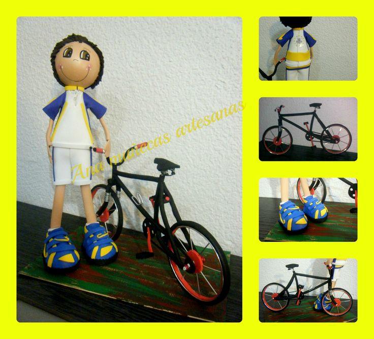 fofucho ciclista personalizado