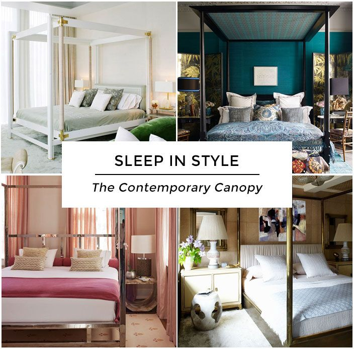 Get To Know the Contemporary Canopy Bed