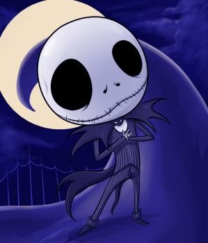 How to Draw Chibi Jack Skellington, Step by Step, Chibis, Draw Chibi, Anime, Draw Japanese Anime, Draw Manga, FREE Online Drawing Tutorial, Added by Dawn, August 8, 2010, 6:12:35 am