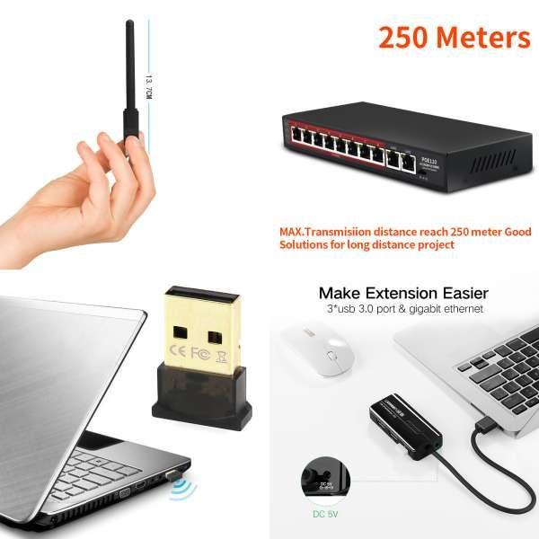 Original Xiaomi Mi WiFi Repeater 2 Extender 300Mbps Signal