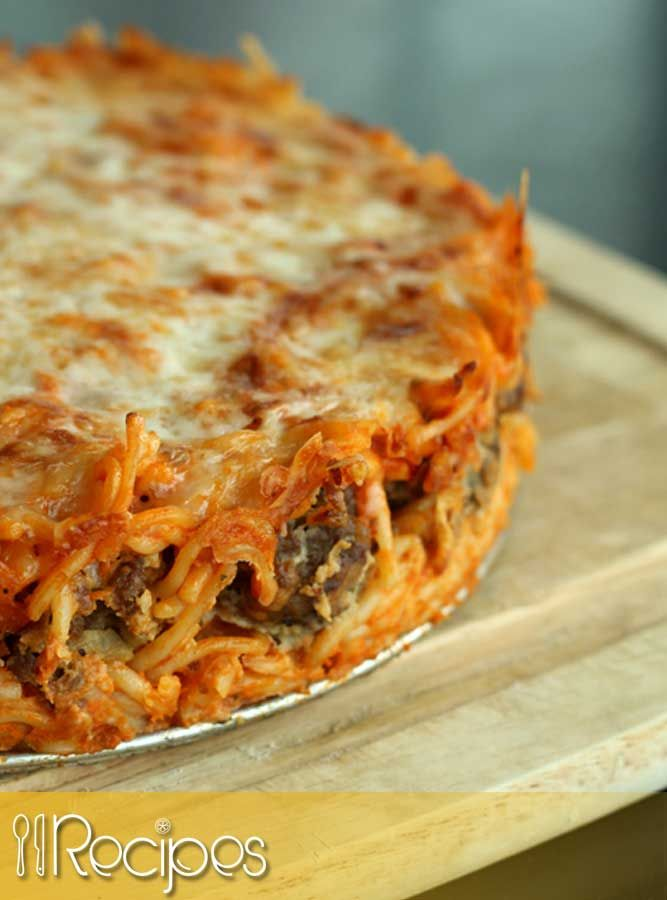 Spaghetti Pie, 8 Smart Points