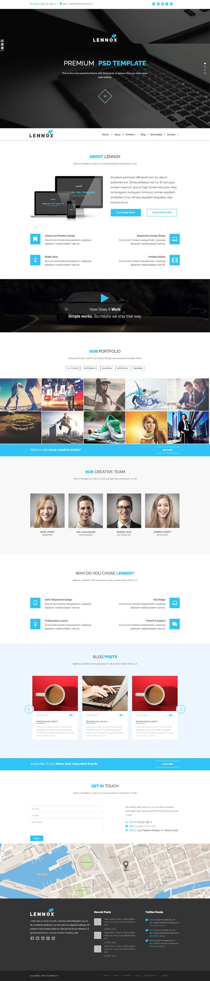 Sneak preview of our next FREE Bootstrap theme!