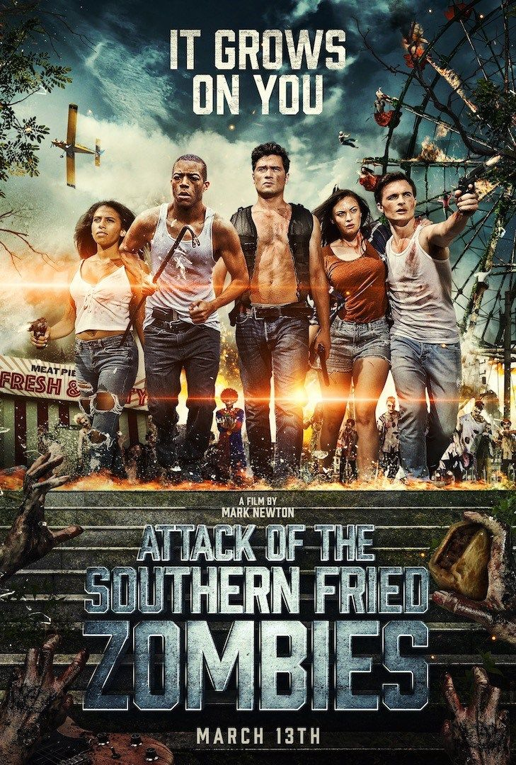 Attack Of The Southern Fried Zombies Zombie Movies Zombie Full Movies