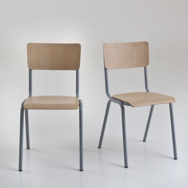 chaise d ecolier pour la maison pinterest coli re chaises et relais colis. Black Bedroom Furniture Sets. Home Design Ideas