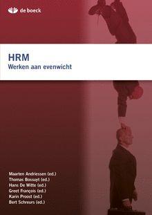 HRM. Werken aan evenwicht werpt vanuit verschillende invalshoeken een nieuw licht op HRM. Specifieke dynamieken en uitdagingen worden blootgelegd in diverse artikels door en voor praktijkmensen. ISBN 9789045534114 Plaatskenmerk 367.2 ANDR