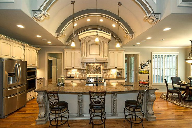 Ceilings that make you look up: Kitchen from the Clarkson Plan #1117