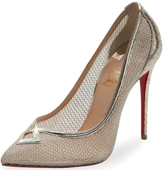 Zapatos de encaje de tacón alto Romy 65 Jimmy Choo London 4mK1X