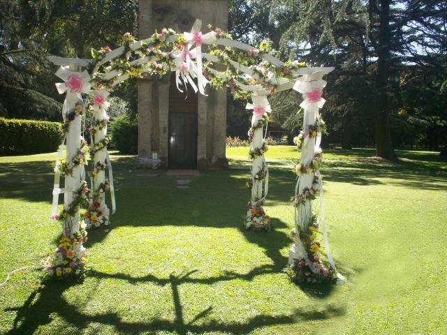 decoraciones de patios con flores | Ambientacion y decoracion de parques y jardines para fiestas al aire ...