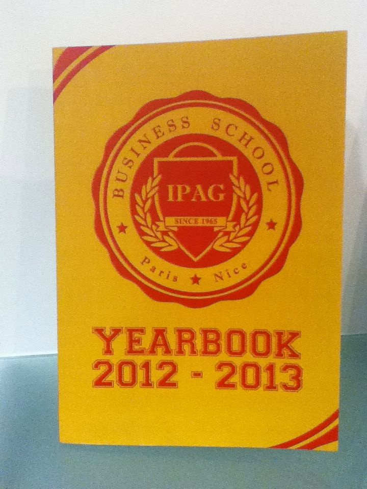 Yearbook @Ipag Business School 2012-2013