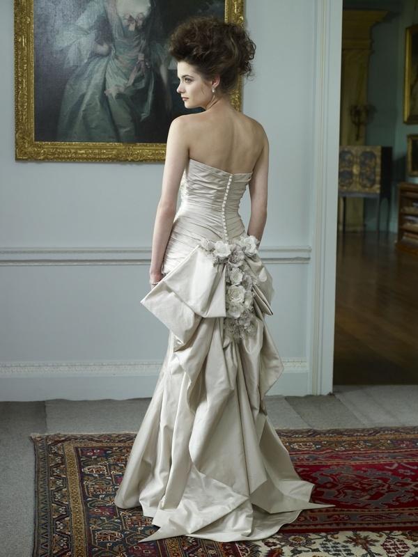 Frangellico Wedding Dress Back Ian Stuart Queen 2017 Collection