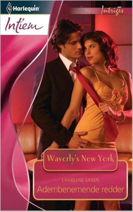 Adembenemende redder  Waverlys New York 2: In het veilinghuis Waverlys zijn kostbare juwelen en zeldzame kunstschatten te koop maar blijkt ware liefde onbetaalbaar... Als Hollywood-actrice Macy Tarlington de beroemde juwelen uit haar moeders erfenis bij Waverlys laat veilen wordt ze aan alle kanten door paparazzi belaagd. Een onbekende man schiet haar te hulp en redt haar uit het gedrang. Even later gezeten in zijn verlengde witte limousine en nippend aan een glas champagne herkent ze hem…