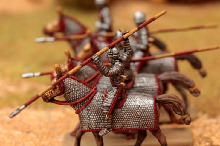 1/72 Late Roman Cataphracts - minis mini figurines figurine figures figure 20mm 1/72 ancients painting plastic toy soldier miniatures Philotep