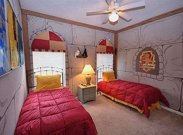 Harry Potter Themed Bedrooms Harry Potter Room Decor