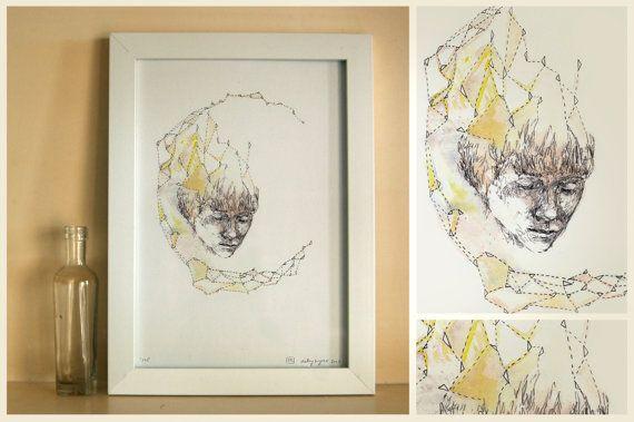 CONSTELLATION  Shelley Krycer fine art, $50.00