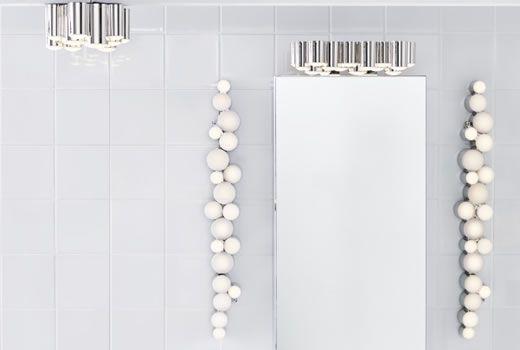 17 migliori idee su bagno ikea su pinterest ikea for Specchio con luci ikea