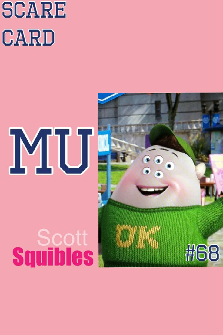 Scott Squibles scare card made by @Mia Lierich on PicCollage