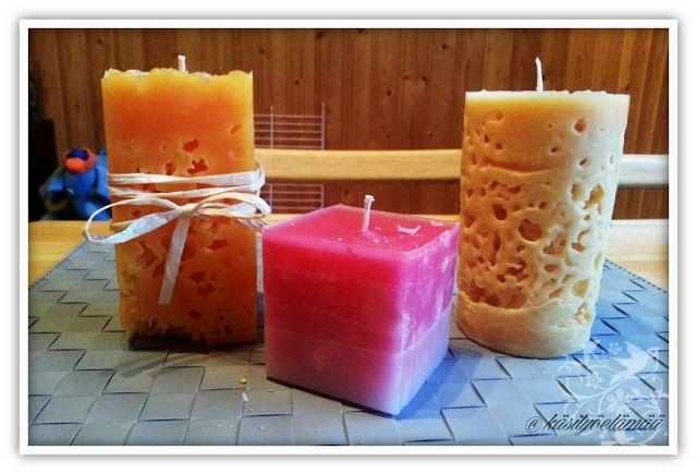 DIY kynttilät