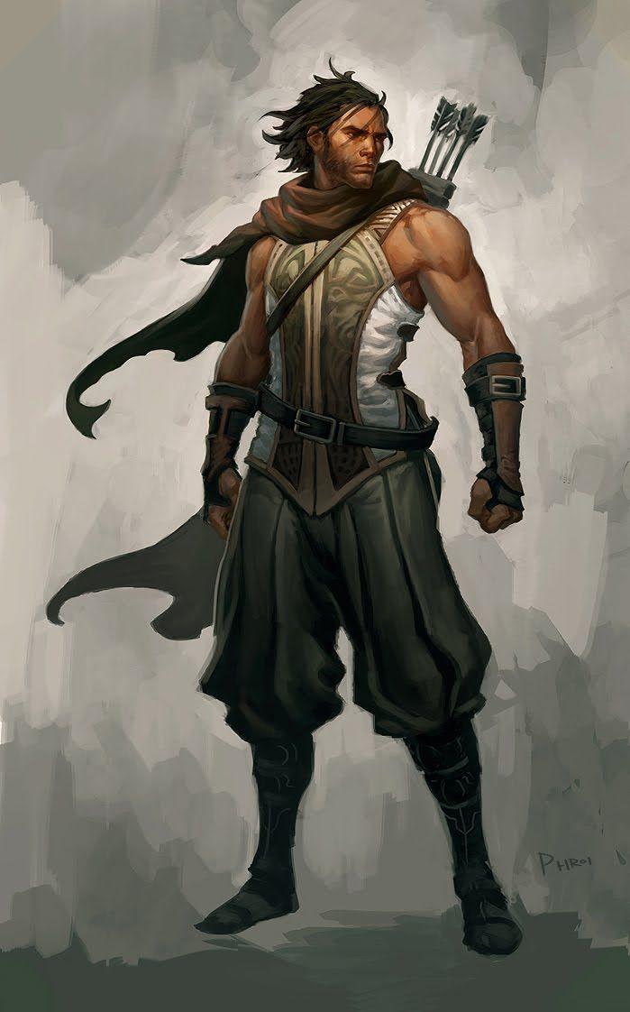 male ranger/rogue/bard