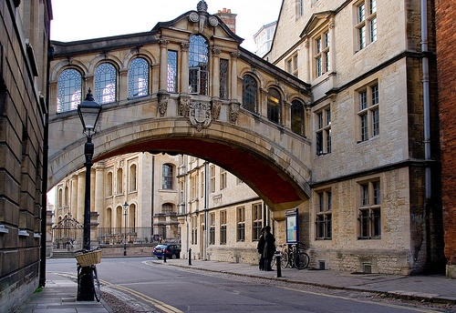Bridge of Sighs, Oxford City