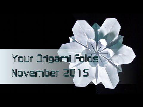 "Your Origami Folds November 2015: ""Sakura Star"" (Ali Bahmani) - YouTube"