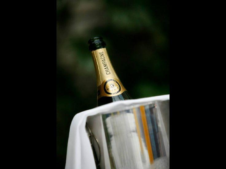 Champagne castle Leslie