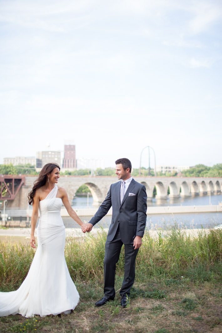 outdoor wedding venues minneapolis%0A Stone Arch Bridge    Married    Stacy   Joe u    s Minneapolis Wedding    June  u