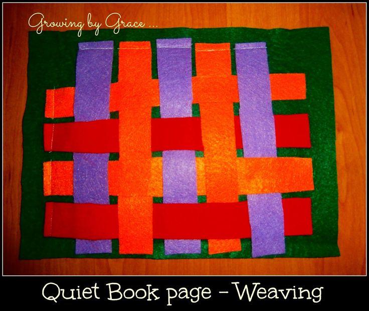 Crochet Quiet Book : quiet books
