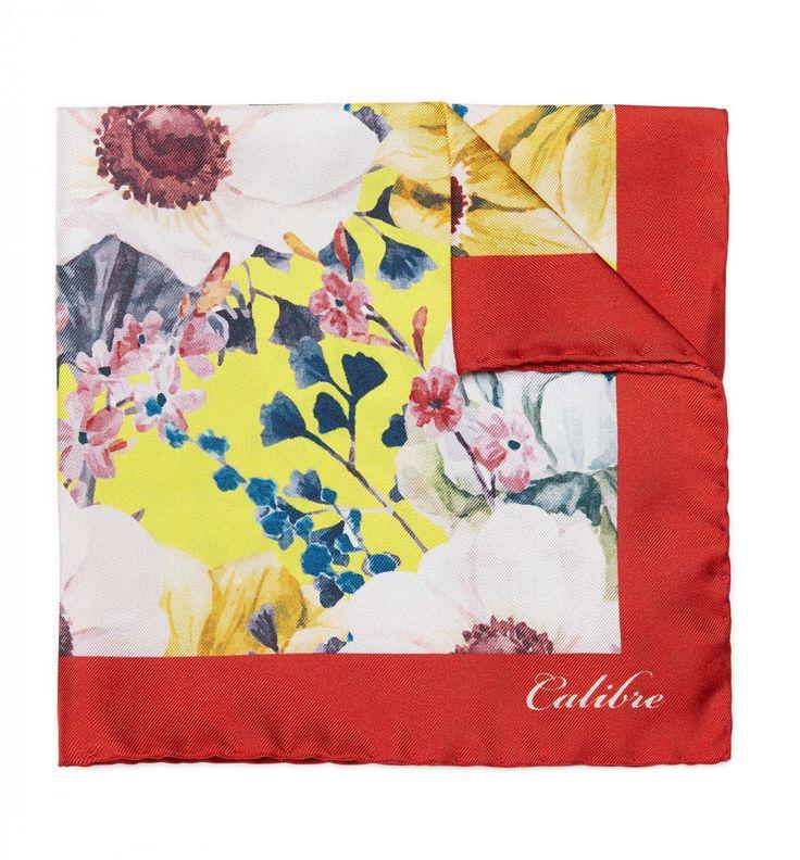 Pocket Squares Online | Cotton & Silk Pocket Squares | Calibre