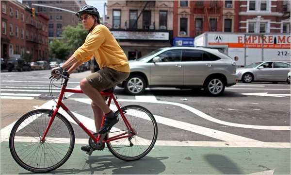 inspiration from Bruce Weber, NY Times reporter, about riding his bike across america
