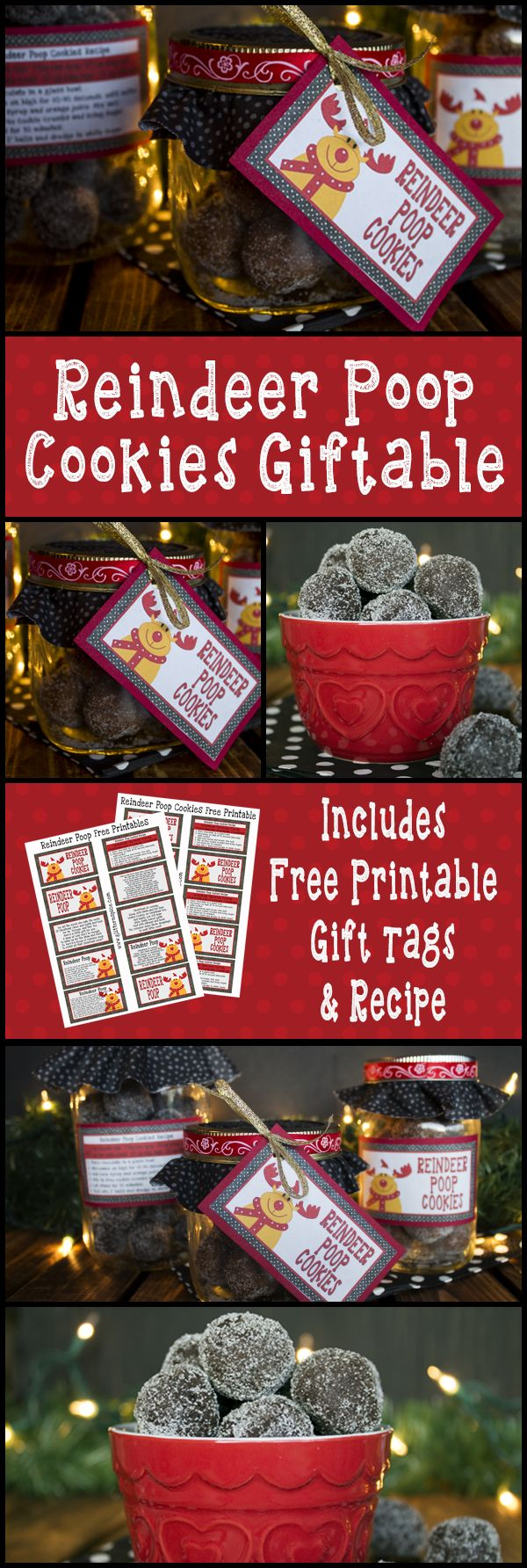 ...because who doesn't want to eat reindeer crap during the holidays!