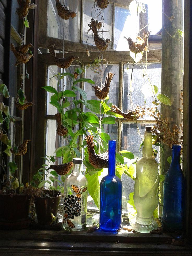 La ventana de la cocina!  en marzo.